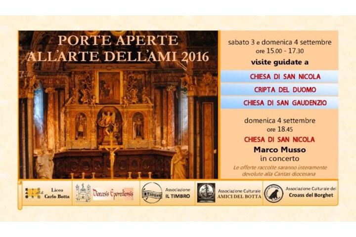 PORTE APERTE ALL'ARTE DELL'AMI 2016